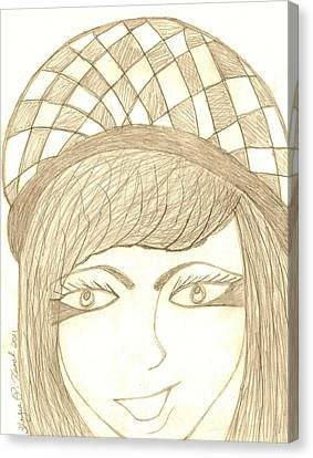 Jezebel   Canvas Print by Shayna  Keach