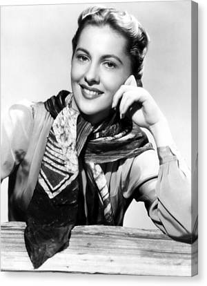 Joan Fontaine, Paramount Pictures, 1945 Canvas Print by Everett