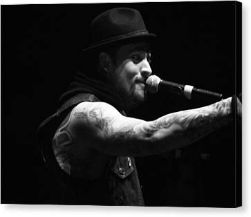 Joel Madden Canvas Print by Katie Mann