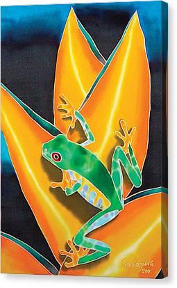 Joe's Treefrog Canvas Print by Daniel Jean-Baptiste