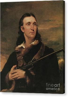 John James Audubon, French-american Canvas Print by Photo Researchers