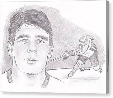 John Leclair Canvas Print by Chris  DelVecchio