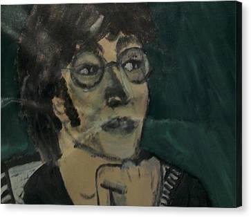 John Lennon Canvas Print by Julie Butterworth