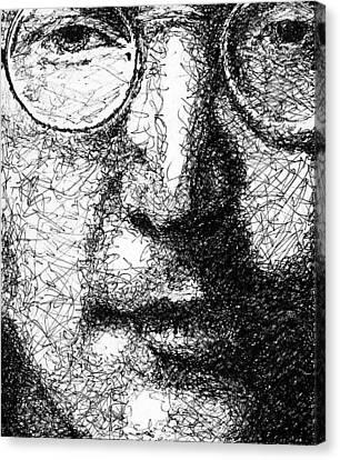 John Lennon Canvas Print by Larry Joe