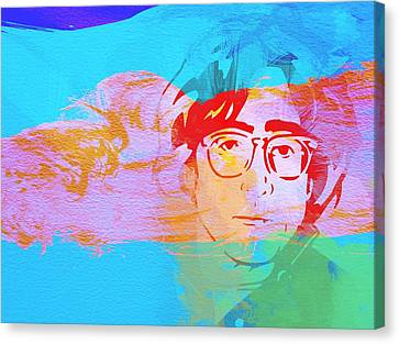 John Lennon Canvas Print by Naxart Studio
