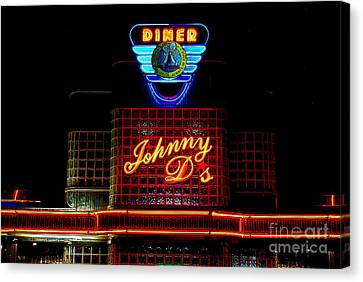 Johnny D's Canvas Print by Guy Harnett