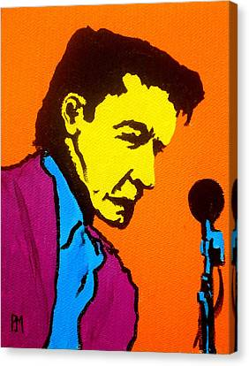 Johnny Pop IIi Canvas Print by Pete Maier