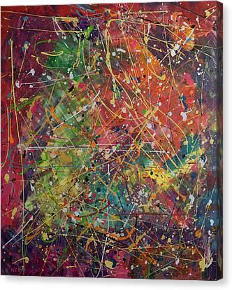 Joy Canvas Print by Orly Shalem