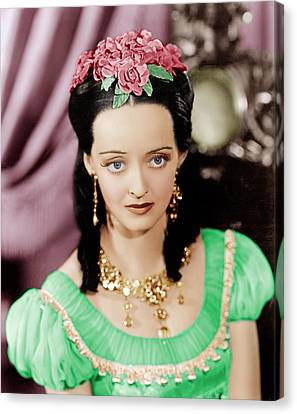 Juarez, Bette Davis, 1939 Canvas Print by Everett