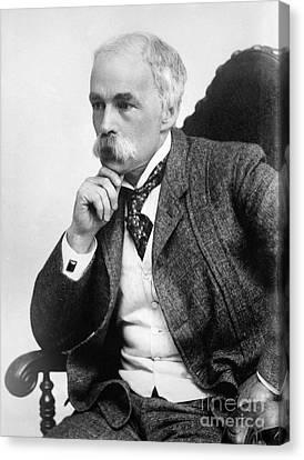 Julian Hawthorne (1846-1934) Canvas Print by Granger