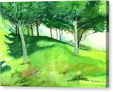Jungle 2 Canvas Print by Anil Nene