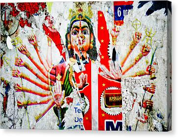 Kaliyuga Canvas Print by Dev Gogoi