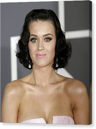 Katy Perry At Arrivals For Arrivals - Canvas Print by Everett