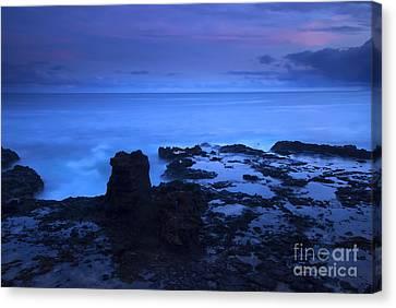 Kauai Twilight Canvas Print by Mike  Dawson