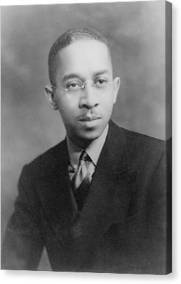 Kenneth B. Clark 1914-2005, African Canvas Print by Everett