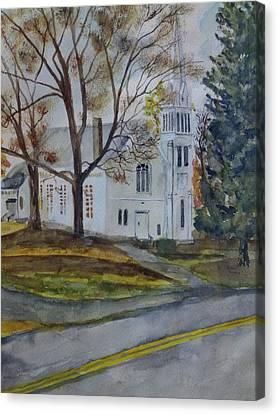 Kent Church Canvas Print by Christian Lebraux Kennedy
