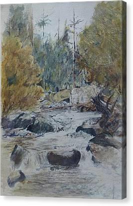 Kent Falls Canvas Print by Christian Lebraux Kennedy