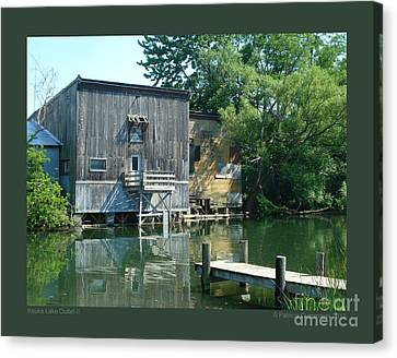 Keuka Lake Outlet-ii Canvas Print by Patricia Overmoyer