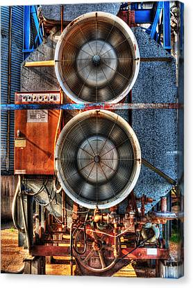 Kinetic Energy Canvas Print by William Fields