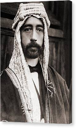 King Faisal Faysal Of Iraq 1885� Canvas Print by Everett