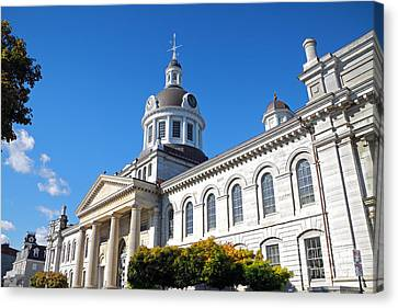 Kingston City Hall Canvas Print by Charline Xia
