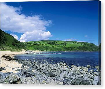 Kinnagoe Bay, Inishowen, Co Donegal Canvas Print by The Irish Image Collection