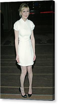 Kirsten Dunst Wearing A Miu Miu Dress Canvas Print by Everett