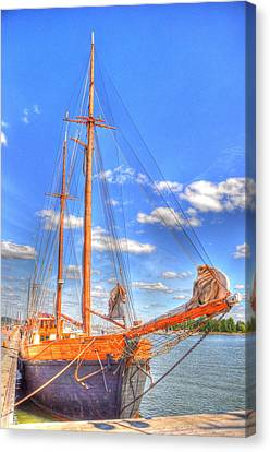 Know The Ropes Canvas Print by Barry R Jones Jr
