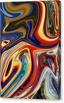 Koi Canvas Print by Chris Butler