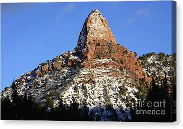 Kolob Canyon Utah Canvas Print by Bob Christopher