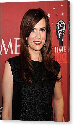 Kristen Wiig At Arrivals For Time 100 Canvas Print by Everett