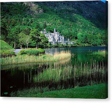 Kylemore Abbey, Co Galway, Ireland Canvas Print by The Irish Image Collection
