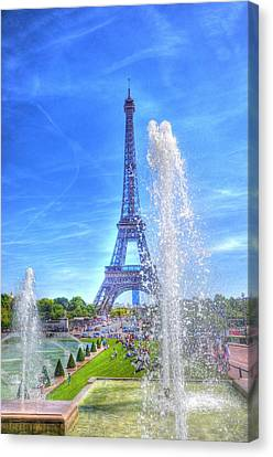 La Dame De Fer Canvas Print by Barry R Jones Jr