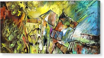 La Provence 27 Canvas Print by Miki De Goodaboom