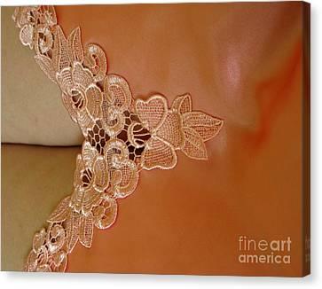 Laces Canvas Print by Ausra Huntington nee Paulauskaite