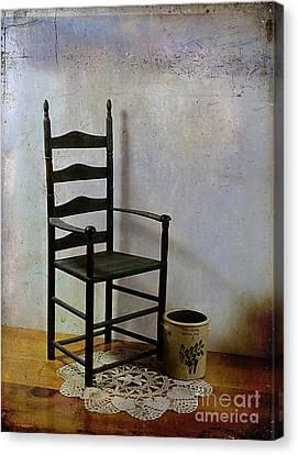 Ladderback Canvas Print by Judi Bagwell