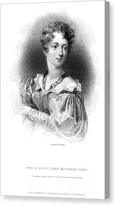 Lady Caroline Lamb Canvas Print by Granger