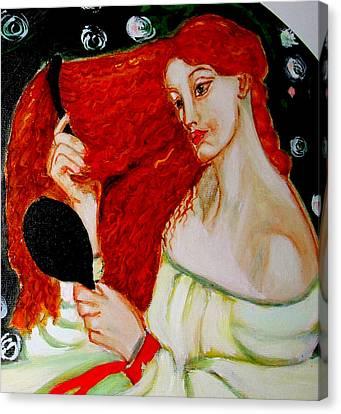 Lady Lilith Canvas Print by Rusty Woodward Gladdish