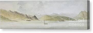 Lago Maggiore Canvas Print by Charles Gore