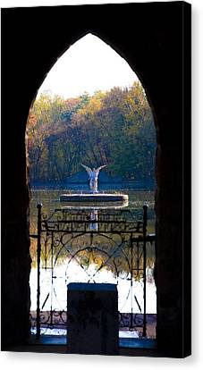 Lake Angel Canvas Print by Bill Cannon