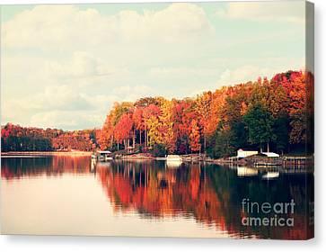Lake Norman North Carolina Canvas Print by Kim Fearheiley