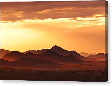 Land Of Sand Canvas Print by Christian Heeb
