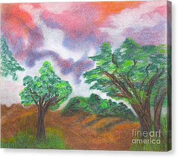 Landscape 1 Canvas Print by Mary Zimmerman
