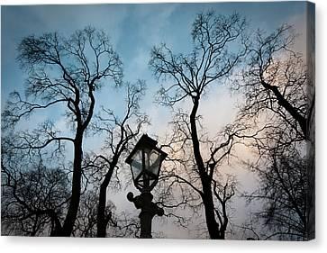 Lantern Canvas Print by Konstantin Dikovsky