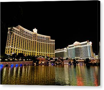 Las Vegas 007 Canvas Print by Lance Vaughn