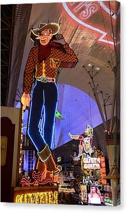 Las Vegas Neon Canvas Print by Bob Christopher
