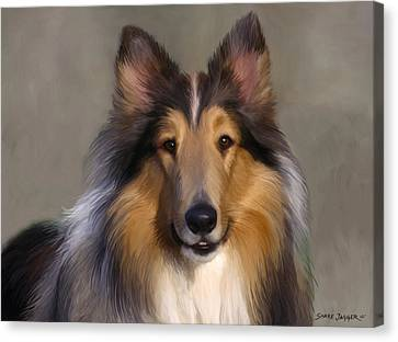 Lassie Come Home Canvas Print by Snake Jagger