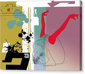 Last Dance Canvas Print by Naxart Studio