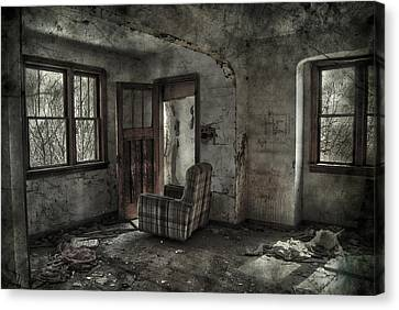 Last Days  Canvas Print by JC Photography and Art