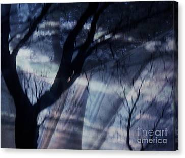 Laundry Day In Sleepy Hollow Canvas Print by Janeen Wassink Searles